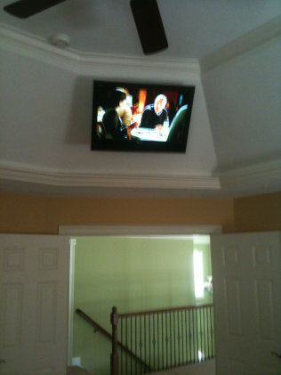 Ceiling Mount Bedroom TV