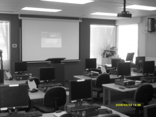 1 of 36 Classrooms in a CollegeAudio Video Installation